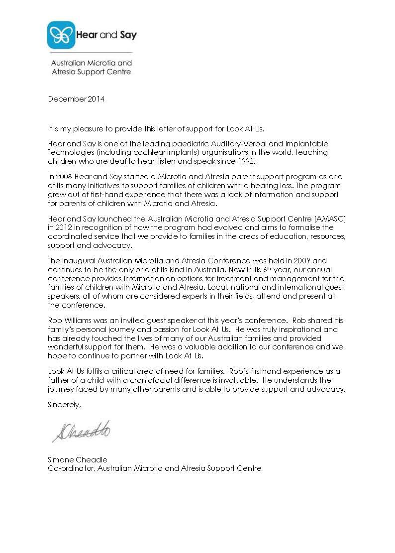 open letter members the advisory open letter the editor